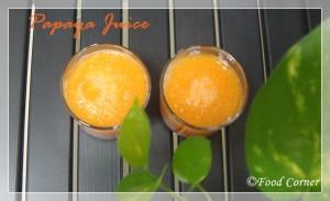 Gaslabu Drink-Papaya Juice with lime