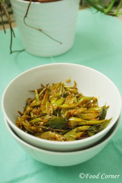 Bonchi Thel Dala-Sri Lankan Green Beans Fry