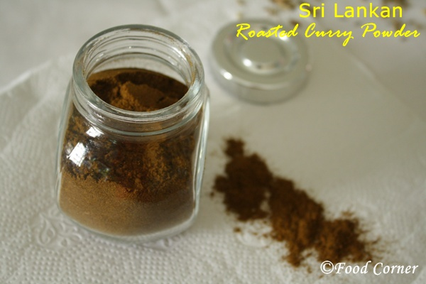 How to make Sri Lankan Roasted Curry Powder