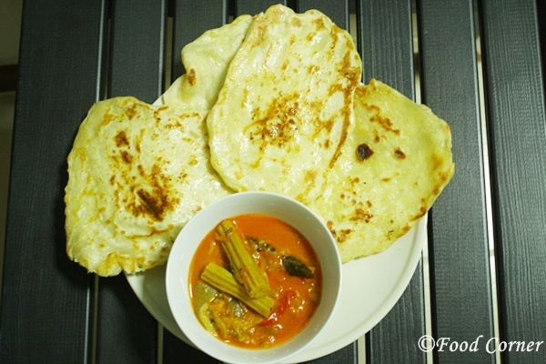 Indian Naan Bread recipe-on the stove top