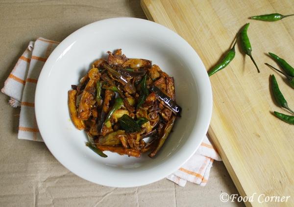 Sri Lankan Food Recipes-Brinjal curry
