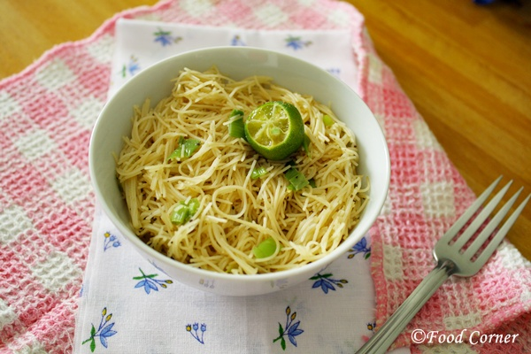 Singapore Fried Rice Vermicelli with soy sauce