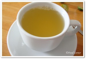 Home Remedy for cough-Honey lime tea