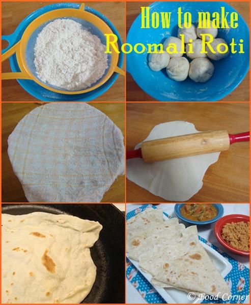 How to make Roomali Roti (Rumali Roti)-Indian Roti Recipe