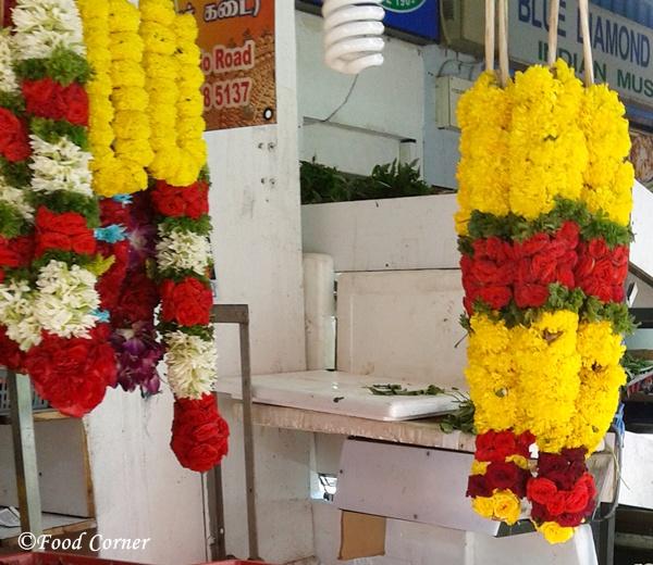 Flower Garlends-Little India,Singapore