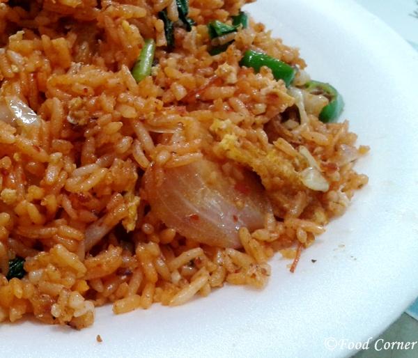 Nasi Gorang-Singapore Hawker Centre Food