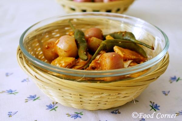 Sinhala Achcharu (Sri Lankan Pickle)