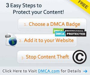 Protect your content with a DMCA.com Protecion Badge