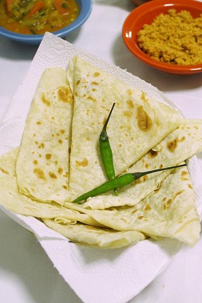 Roomali Roti (Rumali Roti)-Indian Roti Recipe