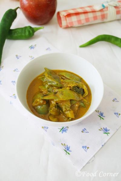 Thai Eggplant curry-(Sri Lankan Ela Batu curry-Thalana Batu Curry)
