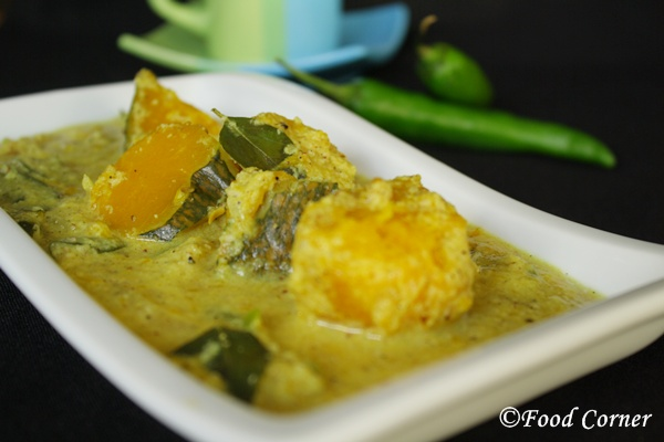 Sri Lankan curry-Pumpkin Curry