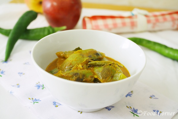Thai Eggplant curry-(Sri Lankan Ela Batu curry-Thalana Batu Curry)