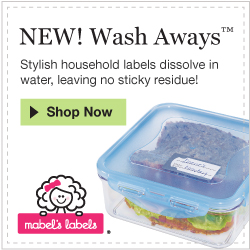 Mabel's Labels-Wash Away Labels