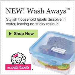 Mabel's Labels-Wash Away Labels