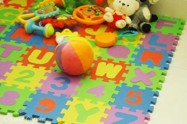 Baby play mat-Baby Boy Nursary Room