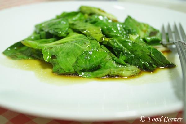 Stir fried Baby Kailan-Chinese Recipes