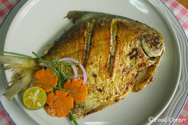 How to avoid fish from sticking onto the pan when pan frying