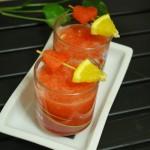 Watermelon and Orange Juice