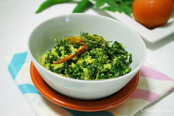 Drumstick leaves stir fry (Sri Lankan Recipes)