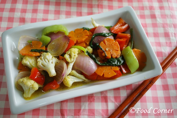 Vegetable Chop Suey (aka chopsi)