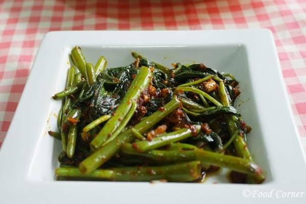 Chinese Kankun Stir fry