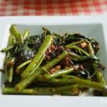 Sambal Kangkong (Kankun stir fry)