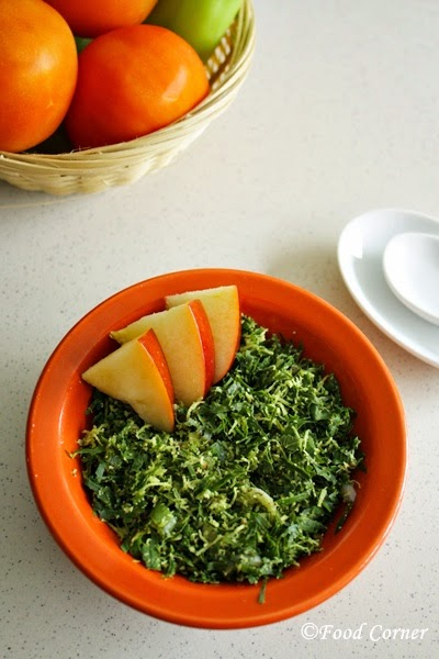 Kathurumurunga Kola Mallum/Agati Leaves in Grated Coconut