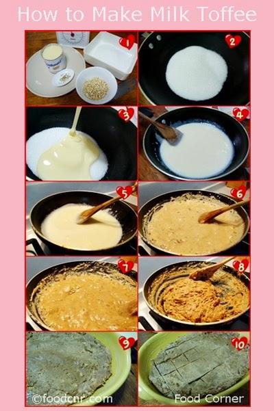 How to make Sri Lankan Milk Toffee
