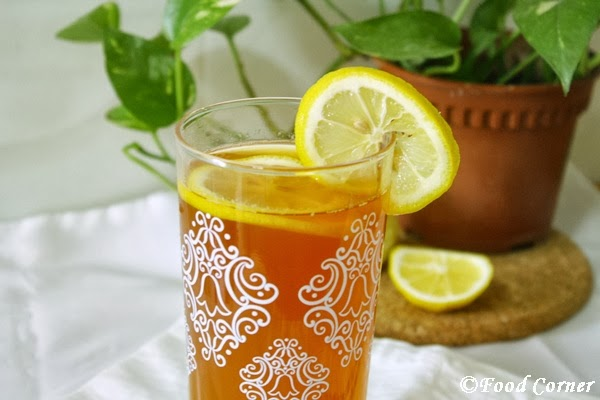 Iced Lemon Tea with Ceylon Black Tea
