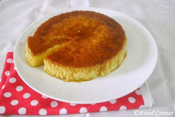 Caramel Pudding-using steamer