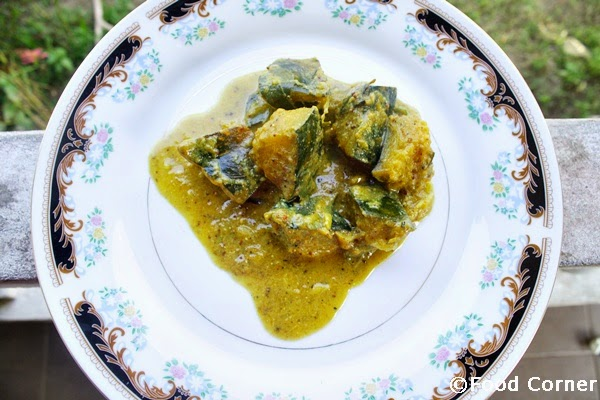 Sri Lankan Pumpkin Curry with Mustard Paste