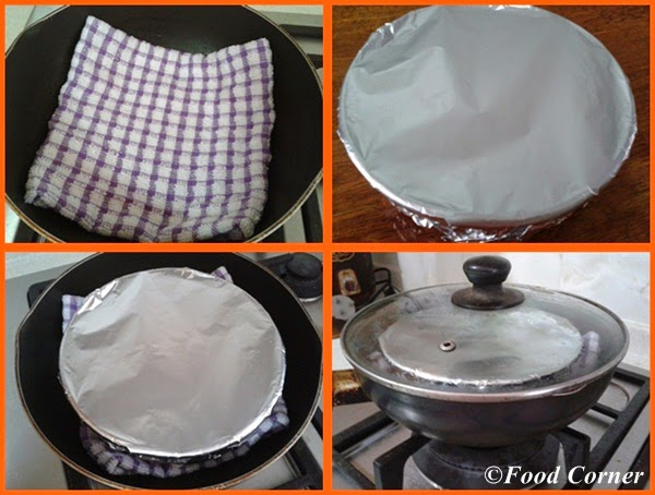 Watalappan -A Sri Lankan Dessert steam in a pot without steamer