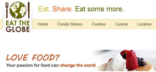 Eat the Globe-A Virtual Dinner Table