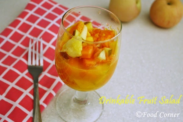Summer Treats to Beat the Heat-Drinkable fruit salad