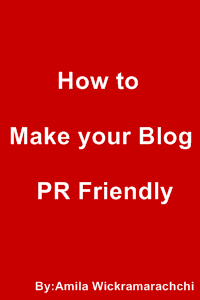 How to make your blog PR Friendly