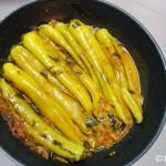 Spicy Banana Pepper Stir-fry (Malu Miris Curry)