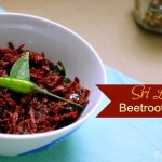 Simple Sri Lankan Beetroot Curry