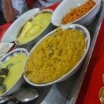 Sri Lankan Breakfast in Anuradhapura
