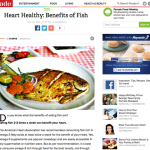 Benefits of Fish-My Article on Parade Magazine