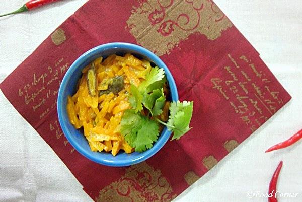 Sri Lankan Carrot Curry /Mild Spicy