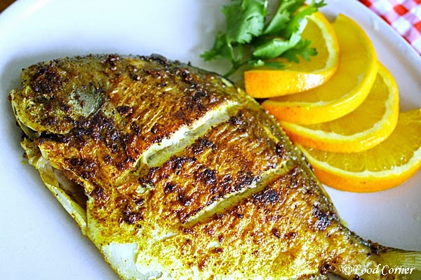 Pan fried pomfret fish food corner for Best fish to pan fry