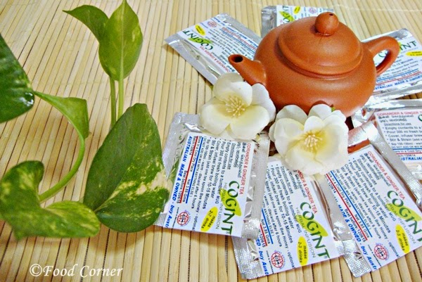 COGINT-Coriander & Ginger Tea from Durst Enterprise