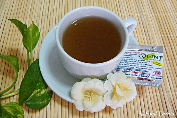 Coriander & Ginger Tea