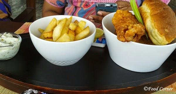 Food at Boardwalk-Waters Edge,Colombo Sri Lanka
