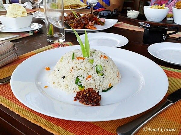 Fried Rice at Boardwalk-Waters Edge,Colombo Sri Lanka
