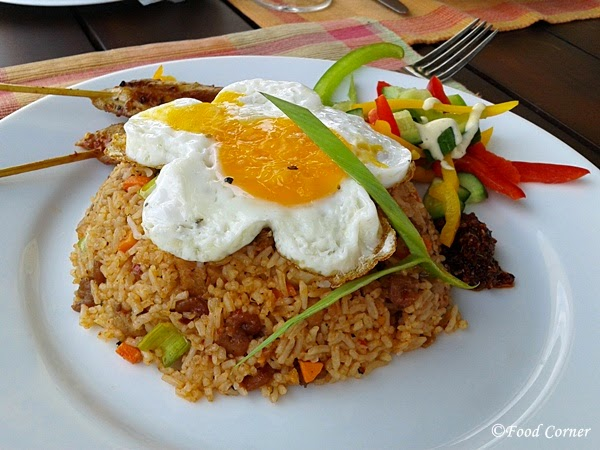 Nasi Goreng at Boardwalk-Waters Edge,Colombo Sri Lanka