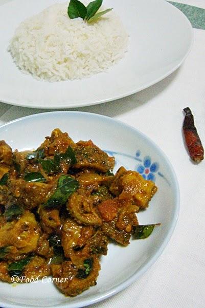 Sri Lankan Recipes-Thumba Kariwila Stir-fry