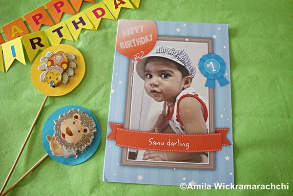 First Birthday personalized Greeting Card from Cardstore.com-Review