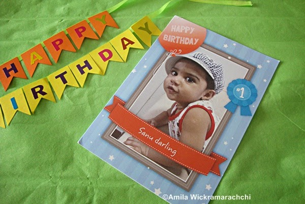 First Birthday Card from Cardstore.com-Review