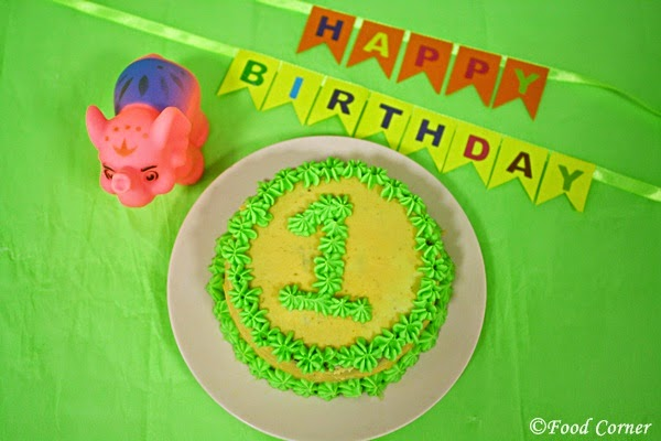 Easy DIY First Birthday Smash Cake